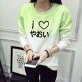 BL манга аниме фэндома Толстовка Зима Женщины яой фэндома fujoshi Кофты Женщины Распечатать Толстовка Японский Письмо Пуловеры