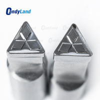 CandyLand Rhombus Milk 3D Punch Press Mold Candy Punching Die Logo TDP0 TDP1.5 Tablet Punch Press Die Pill Maker Mould