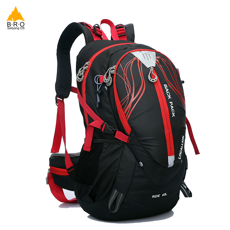 Bicycle Backpack MTB Outdoor Enquipment 40 L Suspension Breathable Panniers Cycling Backpack Climbing Riding Bicycle Bike Bag bicycle backpack mtb outdoor enquipment 40 l suspension breathable panniers cycling backpack climbing riding bicycle bike bag