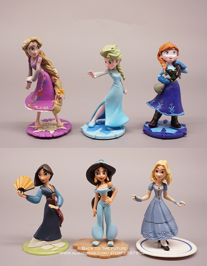 Action & Toy Figures Zxz Sofia The First Princess 8cm Mini Doll Action Figure Posture Anime Decoration Collection Figurine Toy Model For Children 2019 New Fashion Style Online