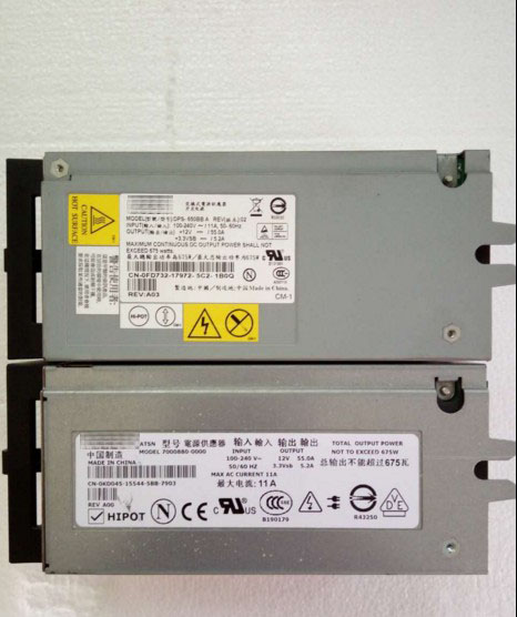 Server Power Supply use for PowerEdge 1800 PE1800 DPS-650BB A 675W p2591 FD732 server power supply for dell poweredge c1100 dps 650sb 8m1hj 650w fully tested