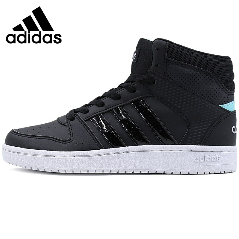 Original New Arrival Adidas NEO Label VS HOOPSTER MID W Women's Skateboarding Shoes Sneakers цены онлайн