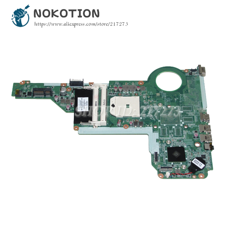 NOKOTION 720691-001 720691-501 For HP Pavilion 15-E 17-E 15 17 Laptop Motherboard DA0R75MB6C0 MAIN BOARD Socket FS1 DDR3 цена