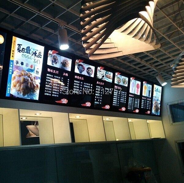 popular lighted menu board buy cheap lighted menu board lots from china lighted menu board