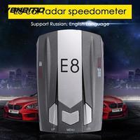 Vehemo Car Radar Detector Tracker 360 Degrees E8 Universal Full Band Scanning Drive Safely Touching Key