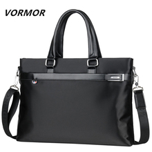 VORMOR Fashion Waterproof Men Handbag Laptop Shoulder Bags Men's Hand B