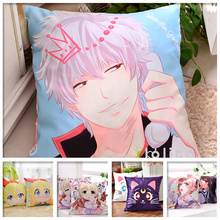 Zone-5 Moeyu Anime Hugging Body Pillow Case Otaku Pillow Cover Bedding Pillowcase Cushion Peach Skin Fabric 45*45cm