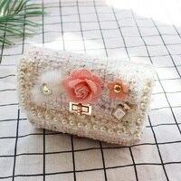 Cotton floral handmade women coin purse children organizer wallet small pouch money bag kids carteira bolso feminina for girls