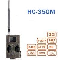 Hc300m صيد الفخاخ HC350M مسجل الفيديو 16mp 0.5 ثانية الزناد فخ 1080 وعاء الصورة فيديو للرؤية الليلية mms جي البرية الكاميرا