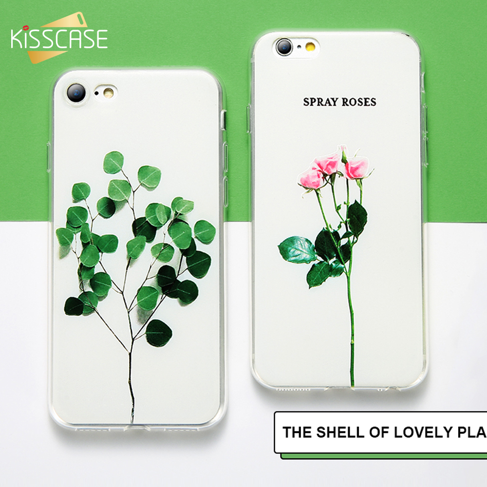 KISSCASE Flower Patterned Case For iPhone 6 6s 5 5s Se