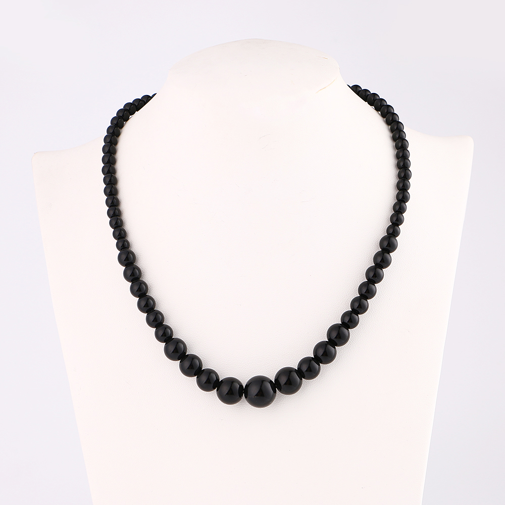 48cm High Quality Unique Natural Black Obsidian Pendant Necklace For Women Men Black Obsidian Lucky Love Crystal Power Jewelry48cm High Quality Unique Natural Black Obsidian Pendant Necklace For Women Men Black Obsidian Lucky Love Crystal Power Jewelry