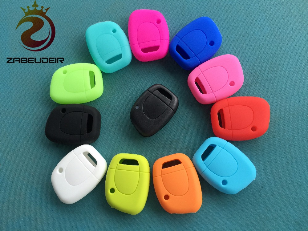1pcs of New Replacement Silicone car key cover case For Renault Clio Kangoo Master 1
