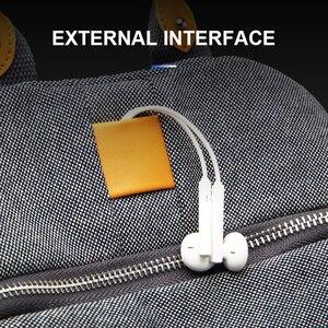 Image 5 - YESO 2019 Nieuwe Mode Vrouwen Rugzak Vrouwelijke Dames Hoge Kwaliteit schooltas Multifunctionele Oxford Tassen voor Mannen Oortelefoon Tas
