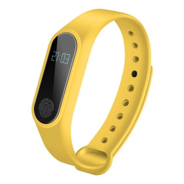 Smart Bracelet M2 HeartRate Bracelet Waterproof Sport Fitness Band Stepcount Message Smart Loop SD998