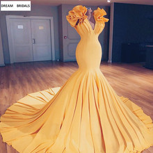 Cap Sleeve Sexy V-Neck Mermaid Evening Dresses Long Abendkleider 2019 Rucked Court Train Robe De Soiree Women Prom Dresses стоимость