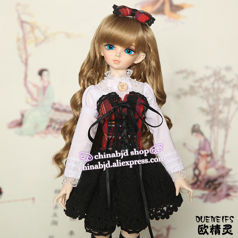 OUENEIFS  girl shirt tights kilt leggings bobby pin ,1/4bjd sd  customization minifee clothes have not bjd sd doll or wig YF4-87 free shipping oueneifs bjd sd clothes 1 4doll pink collocation purple and white minifee chloe girl and luts bory body