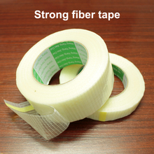 Accu DIY mesh fiber tape Treksterkte slijtage cross strip glasvezel tape Speelgoed vliegtuig model super sterke mesh enkele dubbelzijdige tape