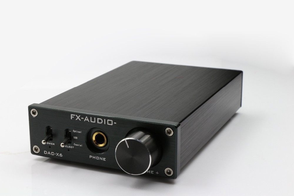DAC-X6 USB Fiber Coaxial Digital Audio Decoder DAC 24BIT/192 HiFi headphone amplifier digital fiber optic fiber optic decoder coaxial audio encoding audio adapter ekl free shipping