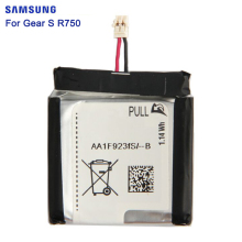 SAMSUNG Original Battery For Samsung Gear S SM-R750 SMR750 R750 300mAh Samsung Authentic Replacement Battery original solenoid t2 for samsung m2626 2621 2675 2875 2876 2950 2955 2951 2956 clutch gear jc47 00035a remove from new machine
