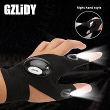 Новинка светодиодный светильник перчаточный Пальчиковый аккумулятор