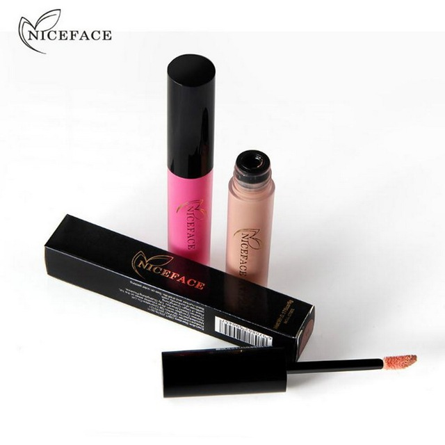 26 Colors Nude Lip Tint Women Liquid Lipstick Waterproof Lasting