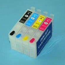 288XL T288 T2881 T2882 T2883 T2884 перезаправляемый картридж без чипа для Epson xp-330 xp-430 xp-434 xp-330 xp430 принтеры