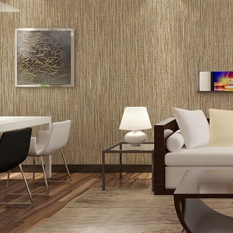 Beibehang Wallpaper Inspired Modern Simple Bamboo Living