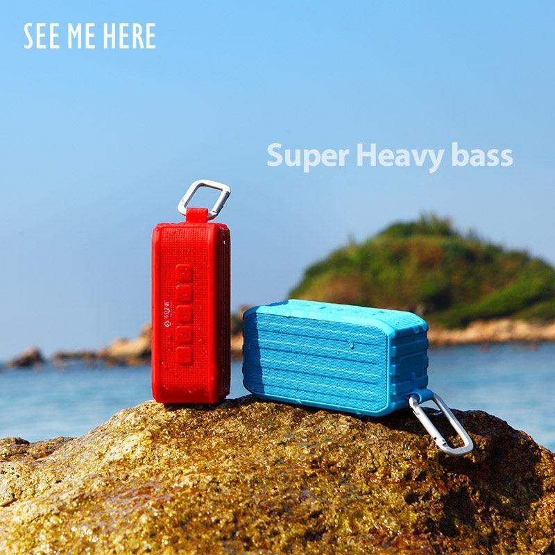 Beni burda görmek bv370 açık kablosuz bluetooth hoparlör 4.0 - Taşınabilir Ses ve Görüntü - Fotoğraf 3