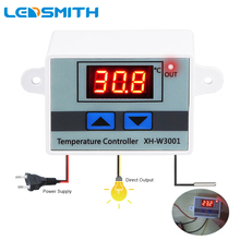 XH-W3001 10A Digital Temperature Controller Quality Thermal Regulator Thermocouple Thermostat with LCD Display 12V 24V 220V cheap LEDSMITH Industrial Charger 1 9 Inches Under Wall Hanging Digital LED Temperature Controller 70°C- 99°C 220v digital led temperature controller 10a