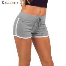 5 Cores Hot 2017 Verão de Algodão Ocasional Preto Curto Shorts De Cintura Alta Femininos Mulheres Calções de Treino Bottommings 329