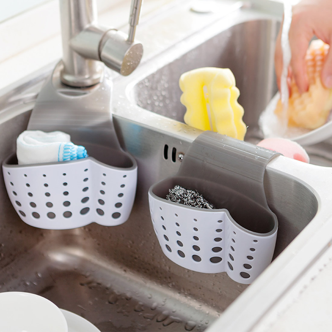 Kitchen Sink Accessories Basket Sink Accessories Draining Basket Promotionshop For Promotional