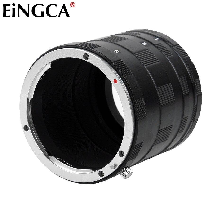 Camera Lens Adapter Ring Macro Extension Tube Pour Canon EOS 80D 70D 60D 50D 600D 700D 750D 760D 800D 1200D 5D 5DII 6D 7D 77D 1D