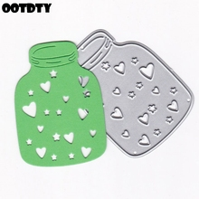 Bottle Metal Cutting Dies Stencil DIY Scrapbooking Album Stamp Paper Card Embossing Crafts Decor 2019 For Making