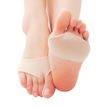 1/2pair Fabric Foot Insole Pad Orthopedic Cushion Pad High Heel Arch Cushion