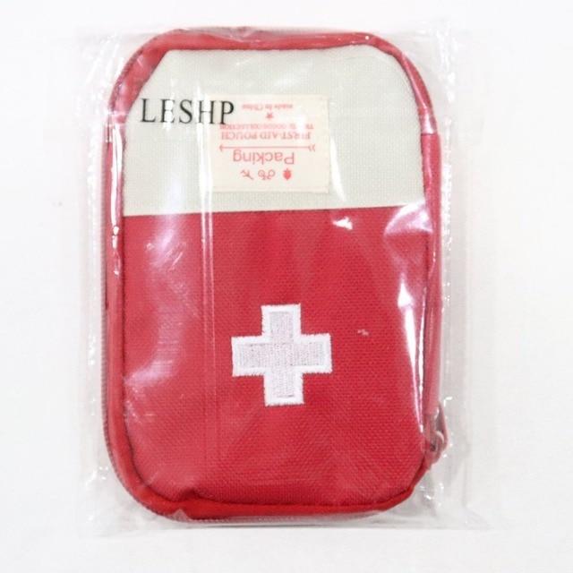 Mini trousse de premiers soins sac vide maison poche de survie d'urgence Portable médicaments sac de sécurité petit médicament diviseur organisateur de stockage