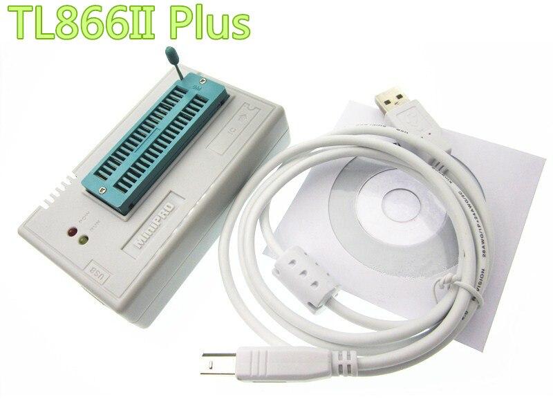 где купить new V7.05 TL866II Plus BIOS USB Universal Programmer ICSP Nand FLASH EEPROM 1.8V 24 93 25 better than TL866A TL866CS по лучшей цене