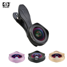 APEXEL 4K HD wide angle lens circular polarizing Filter mobile phone Camera Lenses kit for iPhone 6 7 android ios moresmartphone