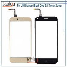 For UMI Diamond TouchScreen Front Glass Lens Sensor Digitizer Assembly Replacement Parts For UMI Diamond Mobile Phone Accesories(China)