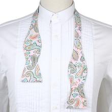 Adjustable Men's Multi Color Silk Bowties Self Bow