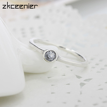 97ca8cfd4 Fashion Elegant Glass Clear CZ Pandora Rings Poetic Droplet Finger Ring for  Women Wedding Jewelry Accessories