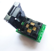 TQFP44 a DIP44 LQFP44 a DIP44 adaptador de enchufe programador QFP44 IC CHIP quema asiento (pin1 a Pin1) Paso de 0,8mm