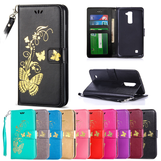reputable site 2b934 7130e US $4.13 8% OFF|Case for LG K10 Lte K410 K430 K430DS K430N K420N K420DS  Flip Case Phone Leather Cover for LG K 10 430ds 430 410 430n 420n 420ds-in  ...