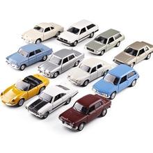 1:32 Scale Metal Alloy Classic ALFA ROMEO/PARATI/Chevrolet/Brasilia/WILLYS AERO Car Model Diecast Vehicles Toys For Collection цена