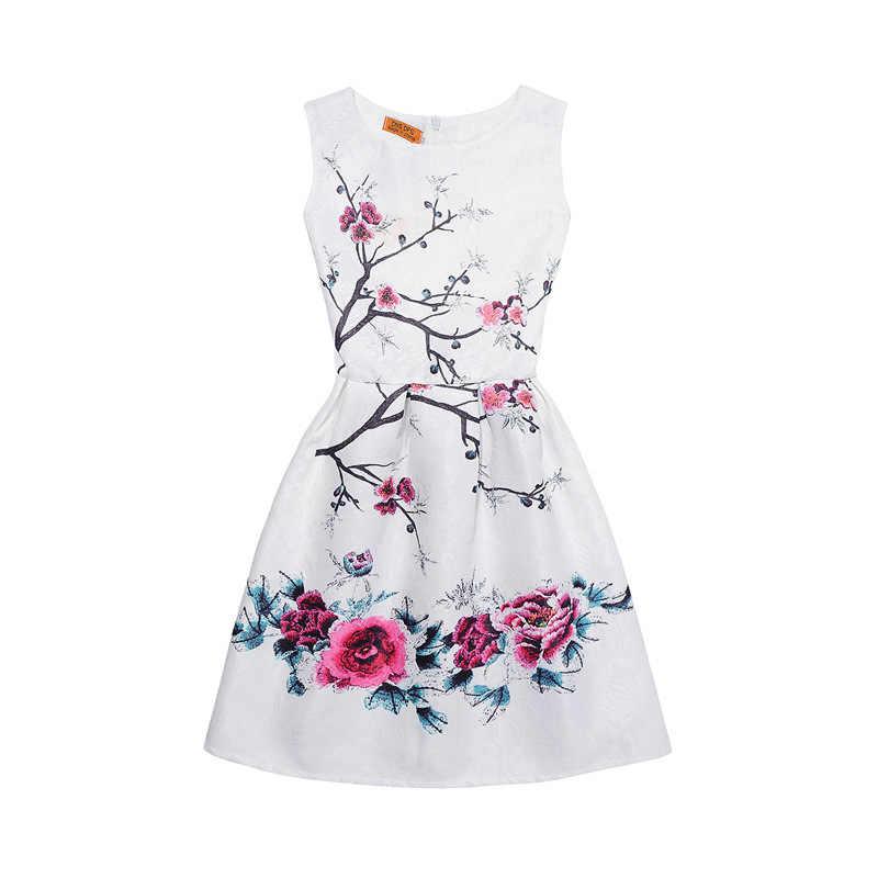 2020 nuevos Vestidos para niñas Vestidos princesa adolescentes vestido de fiesta verano mariposa vestido niños disfraz niños ropa
