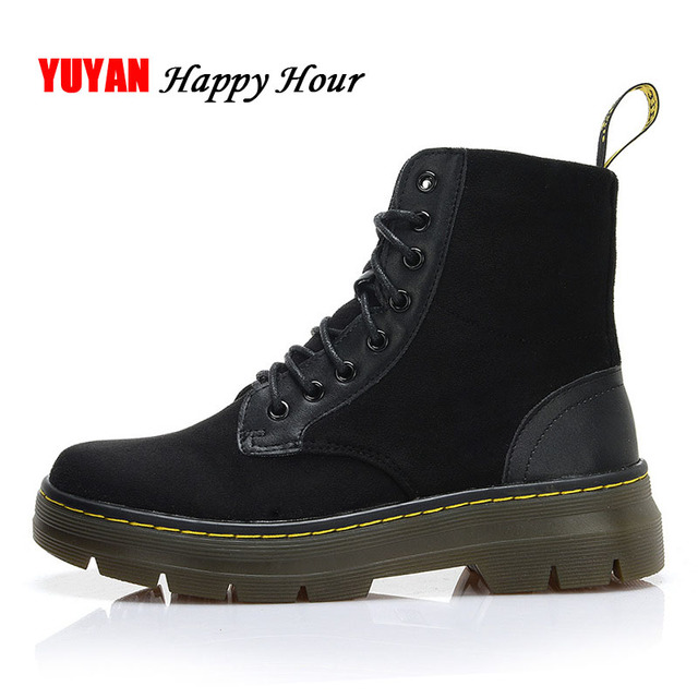 Aliexpress.com : Buy Autumn Winter Shoes Women Fashion Motorcycle ...