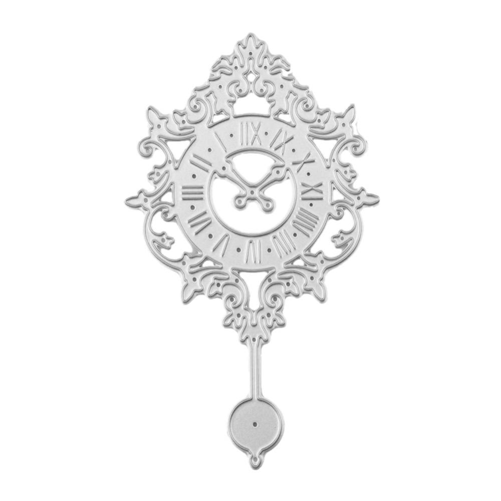 Hot Hanging Bell Clock Template Pattern DIY Metal Cutting Dies ...