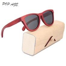 4de03ce22c Pop age señoras retro Gafas de sol mujeres polarizadas rojo Sol Gafas para  las mujeres marca diseñador moda zonnebril Dames GB05.