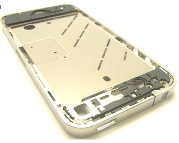 10pcs/lot High quality Middle Frame Bezel Assembly Chassis Housing Mid Frame Housing for iPhone 4S Replacement part