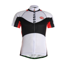 TVSSS Men's Summer Cycling Shirt Simple Pattern with Black and White Color Sportswear Bike Jersey Cycling Clothes China