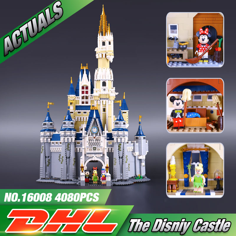 font b LEPIN b font 16008 Creator Cinderella Princess Castle City Model Building Minifigures Block